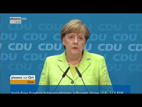 Landtagswahl Schleswig-Holstein: Pressekonferenz der CDU am 08.05.17
