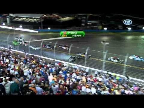 2012 Daytona 500 Lap 2 Crash (Jimmie Johnson, Danica Patrick)