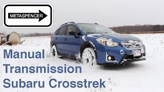 Subaru Crosstrek Manual Transmission Stick Shift Review 2016
