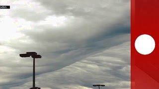 Rare phenomenon: Wave clouds ripple over Georgia