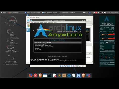 Easiest way to install Arch Linux