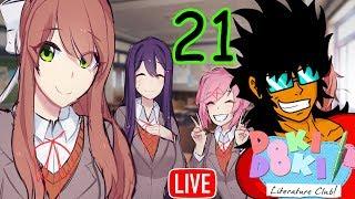 Doki Doki Literature Club [Parte 21] por Marco Hayabusa - En Vivo (21/09/18)