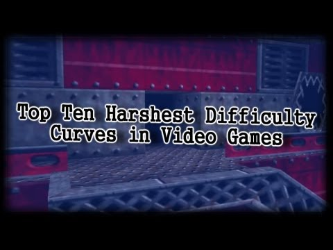 Top Ten Harshest Difficulty Curves in Video Games