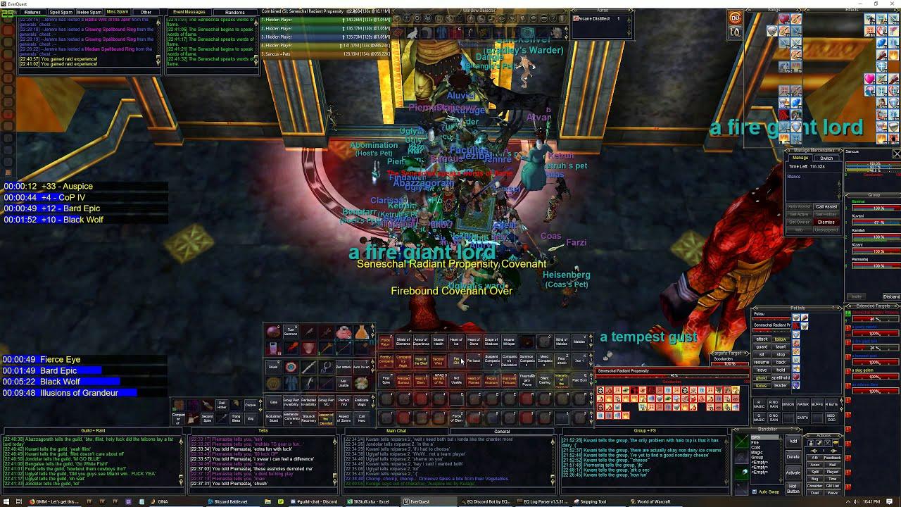 EverQuest - Magician Gameplay (Aalishai Raid)