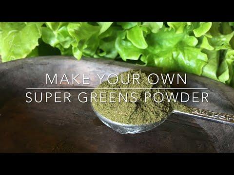Make You Own SUPER GREENS POWDER!!