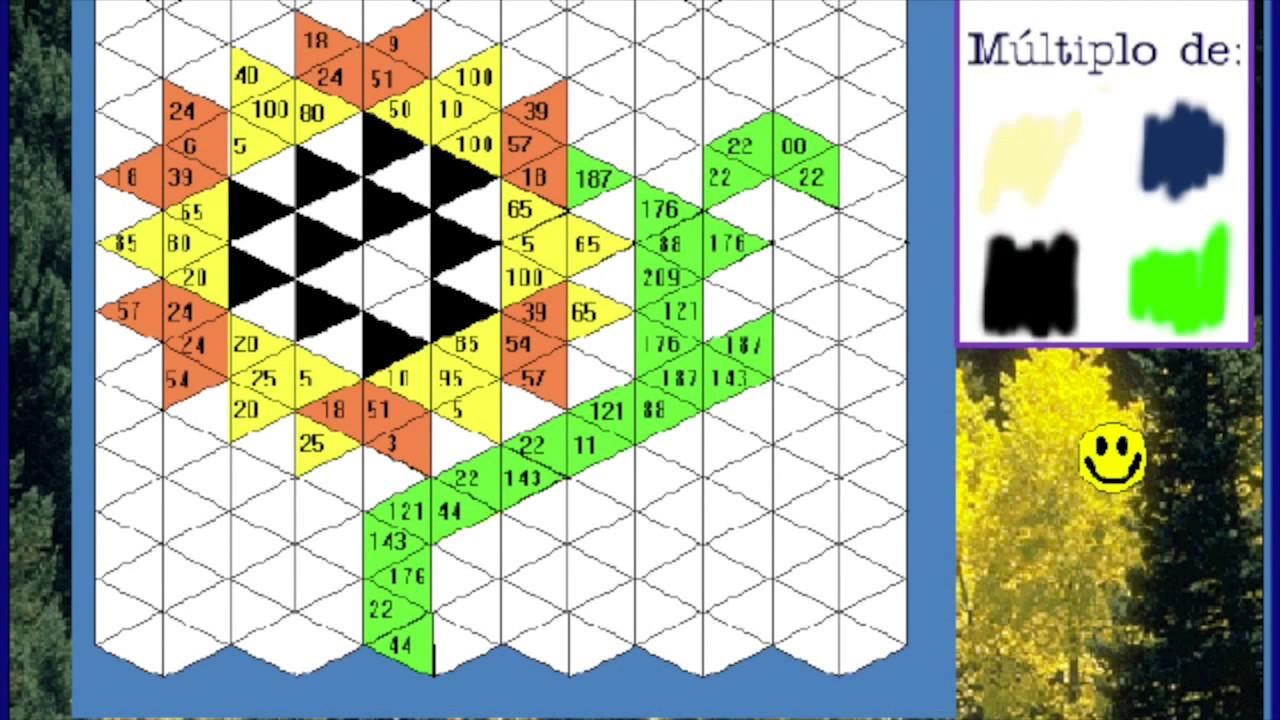Juegos de matemáticas - Primaria 4