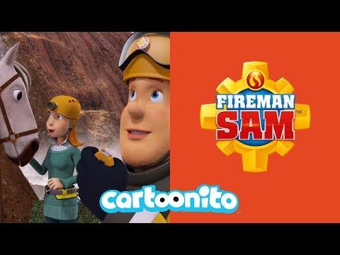 Fireman Sam | Lizzie Helps Sam Rescuing a Horse | Cartoonito UK