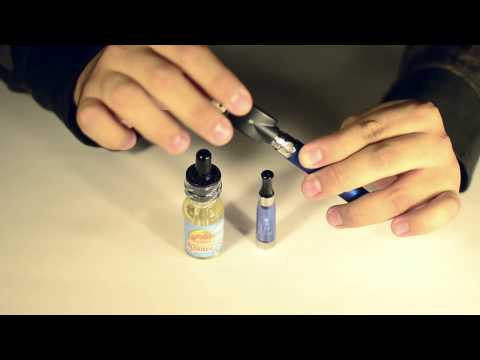 How to use a Vape: Vaporizer Set Up Tutorial (Electronic Cigarette / eHookah)