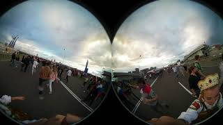 Фан-зона Москва. 360 VR. Матч Россия-Хорватия. 5