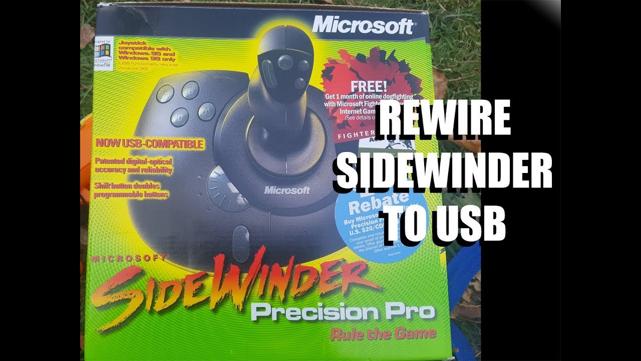 joystick convert sidewinder [ 1280 x 720 Pixel ]