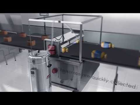 Trims extractors for automatic packaging machines | Direct X AS 30 | Delfin
