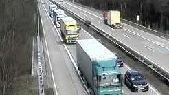 Schockierende Unfallvideos von der Autobahn 7