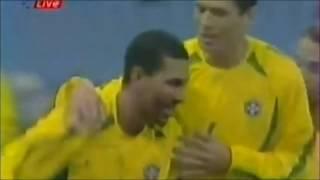 Arábia Saudita 0 x 1 Brasil (Amistoso 2002)