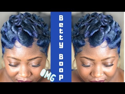 Soft Wave Pixie | How To Finger Wave Tutorial 🌊 👨🏾‍🎤