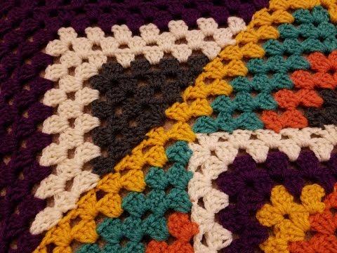 Crocheted Kaleidoscope Granny Square Tutorial  Doovi