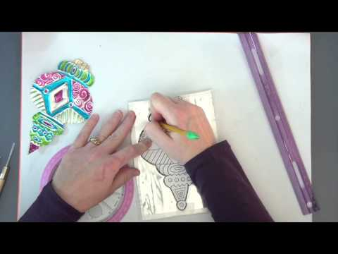 Create Art with ME Ep. 1: Foil Embossed Ornament