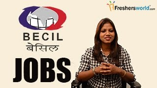 BECIL - Broadcast Engineering Consultants India Limited Recruitment Notification – jobs Exam dates
