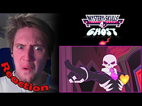 Mystery Skulls Animated - Ghost REACTION! | HEART OF A GHOST! |