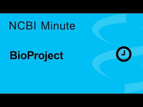 The NCBI Minute: BioProject