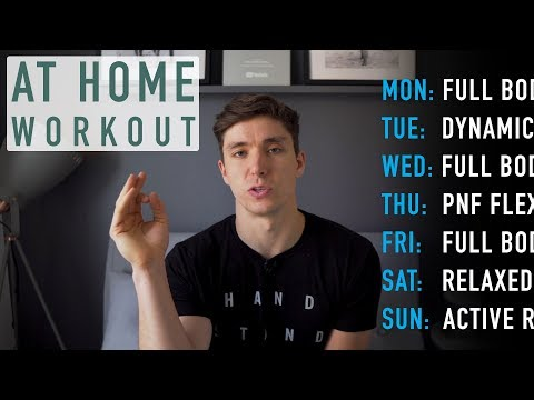 Making The Most Of Home Training | Day 7 [At Home Program]