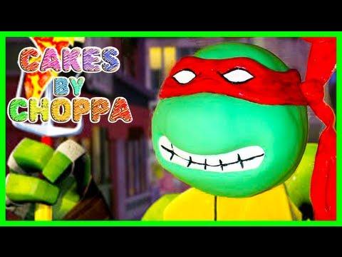 Raphael Cake Ninja Turtles TMNT How To YouTube