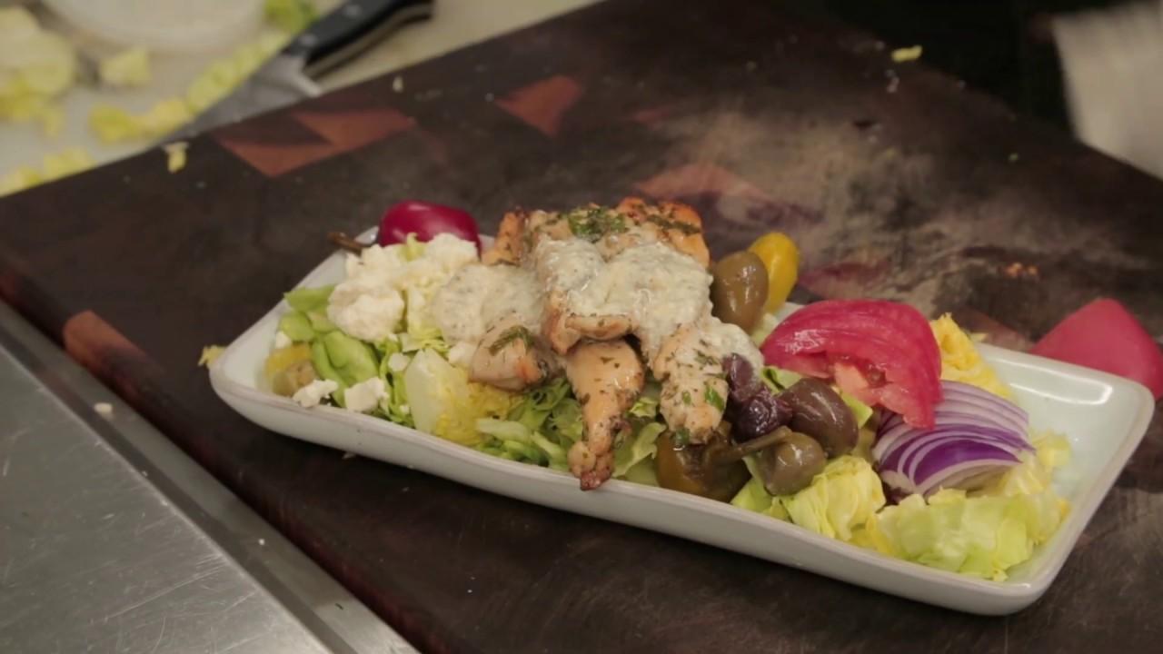 Recipe: Greek Salad with Chicken