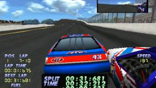 Lets play PS1 games NASCAR 98 part 10(Collectors edition and paintballs)