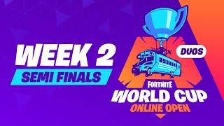 Fortnite World Cup - Week 2 Semi-Finals thumbnail