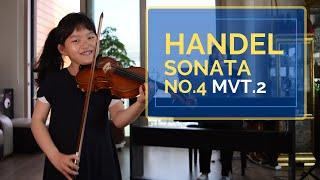 [Handel/Violin] 헨델 바이올린 소나타 4번…