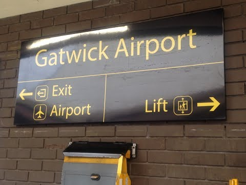 Full Journey on Great Western Railway from Gatwick Airport to Reading
