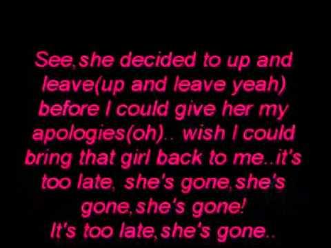 Shes Gone  Brutha lyrics
