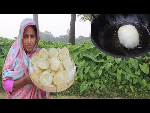 Green Peas Hing Kochuri Recipe - Bengali Koraishutir Kachori - Motorshutir Kochuri Vegetarian Snacks