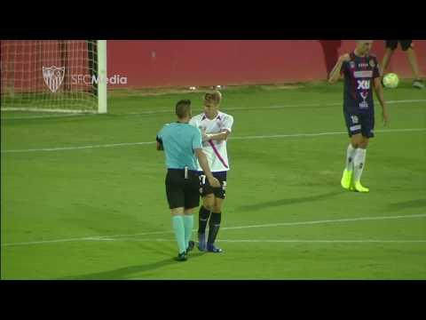 El Sevilla Atlético encontró las ocasiones pero no el gol de la victoria ante el Yeclano (0-0)