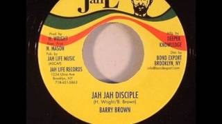 Barry Brown - Jah Jah Disciple + dub