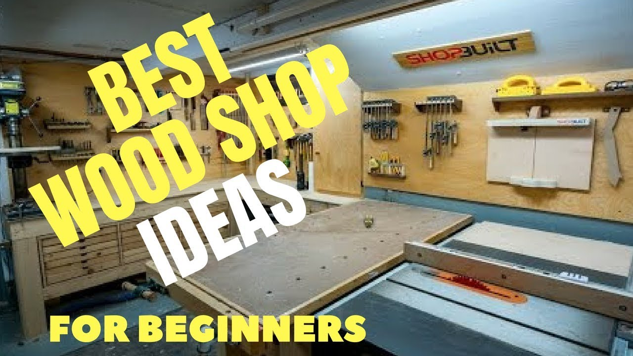 Surprisingly Easy Woodshop Ideas For Beginners Youtube