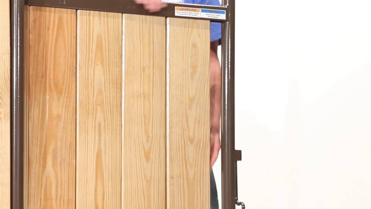 How To Install A Wood Kit Into A Premier Stall Front Or Panel Youtube
