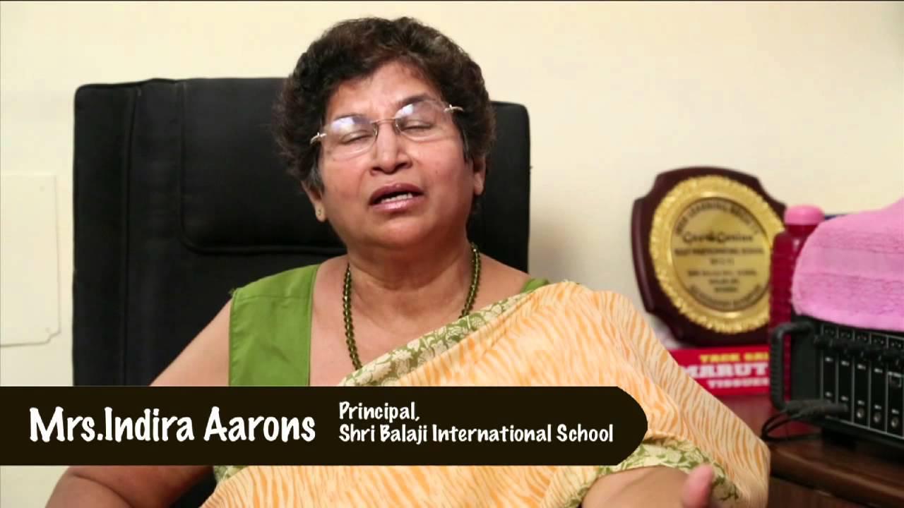 Mrs Indira Aarons