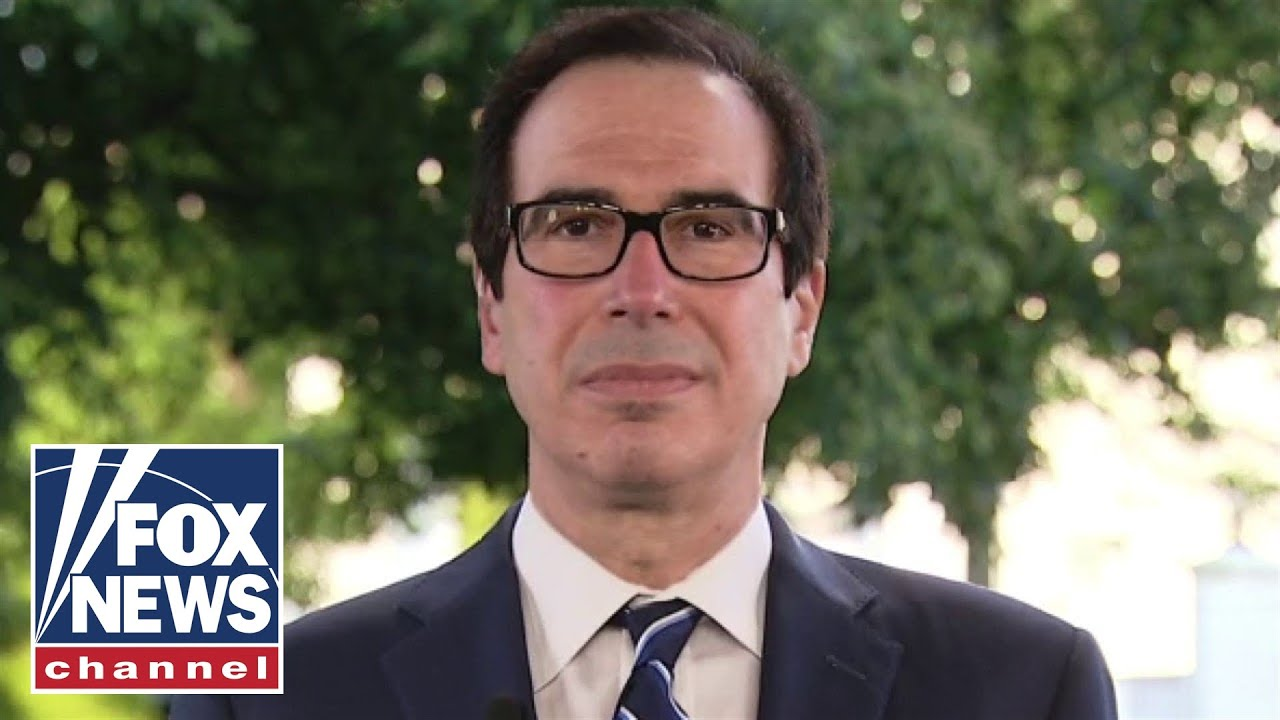 Secretary Mnuchin slams Pelosi's new bill as 'completely partisan'