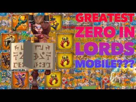 2.3 BILLION MIGHT ZEROED IN WAR GEAR??? Lords Mobile