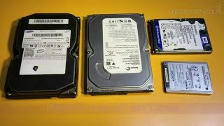 Types of Hard Disk Drive, Internal parts of HDD and Working process of hard disk