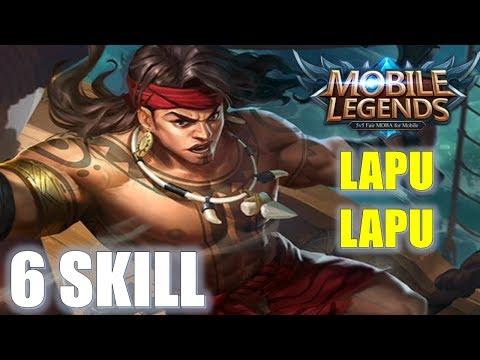 Tướng đầu tiên sở hữu 6 kỹ năng - Đại tướng quân Lapu Lapu - Mobile Legends: bang bang