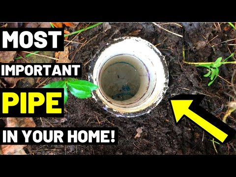 This Pipe Can SAVE YOUR HOUSE FROM SEWAGE FLOODS! (Sewer Clean Out Pipe Explanation)