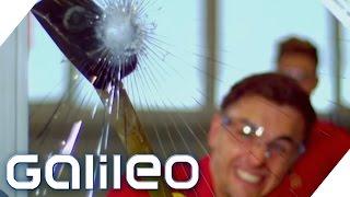 Sicherheitsglas durchbrechen? - Highspeed Heroes  | Galileo Lunch Break