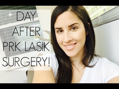 My Day After Lasik Surgery!
