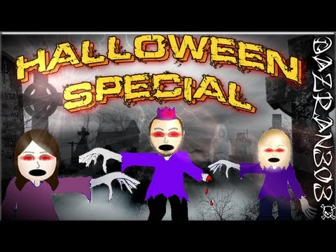 Let's Play Wii Party - Ep.23 | Halloweeen Special | Zombie Tag With Ghost Story