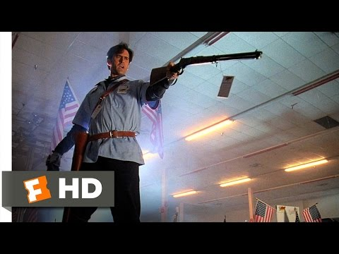 Army of Darkness (10/10) Movie CLIP - Hail to the King, Baby (1992) HD
