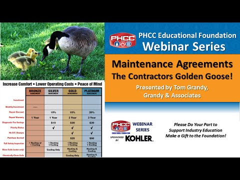 Maintenance Agreements - The Contractor's Golden Goose!