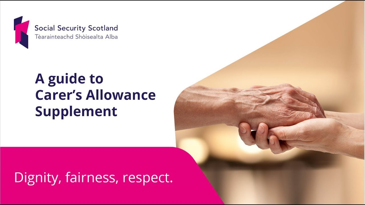 New Carer's Allowance Supplement - OPFS