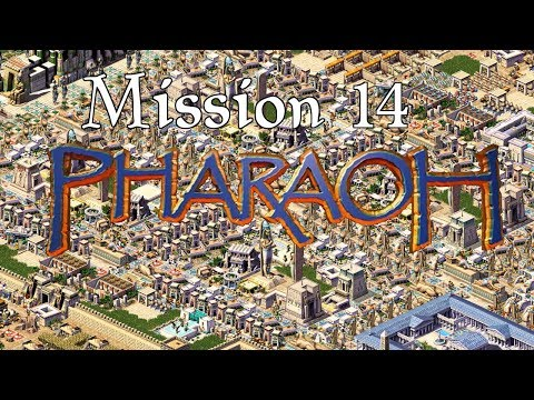 Let's Play Pharaoh (Cleopatra) [Hard] | Mission 14 | Cleopatra's Alexandria | 1080p Widescreen