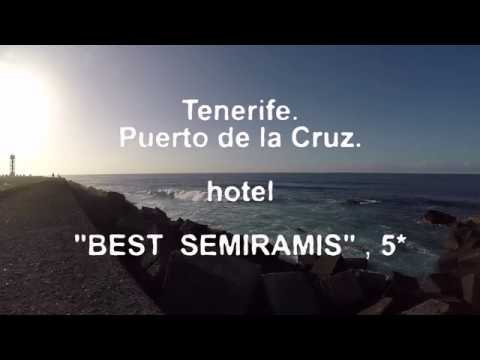 Best Semiramis Hotel 5*  Puerto De La Cruz  Tenerife  Spain